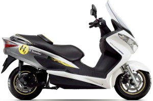 Suzuki Fuel Cell Scooter