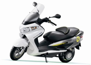 Suzuki Fuel Cell Scooter..