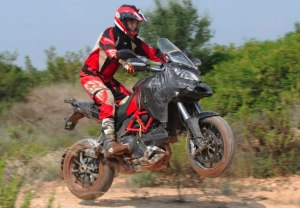 Ducati Multistrada off road test