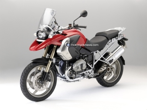 The upgraded 2010 BMW R1200GS