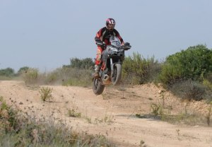 Ducati Multistrada in the rough
