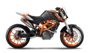 KTM 125cc 2010 machines