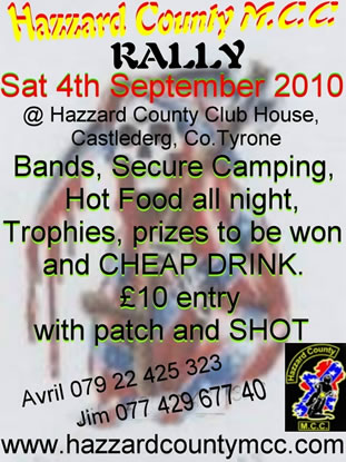 Hazzard County Mcc Rally