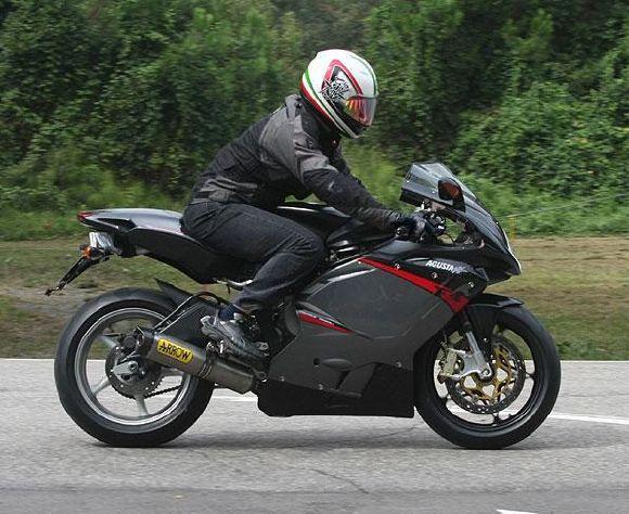 MV Agusta's 675cc F3 Back on Track