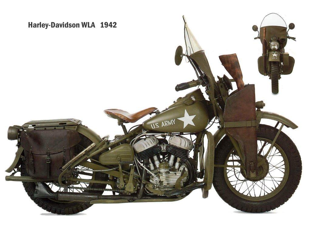 Harley Davidson WLA | Ride The Wild Wind on